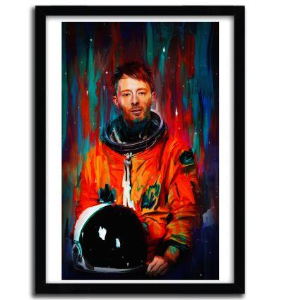 Affiche Thom Yorke par Nicebleed