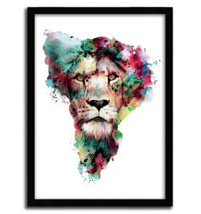 Affiche the King par Riza Pekler