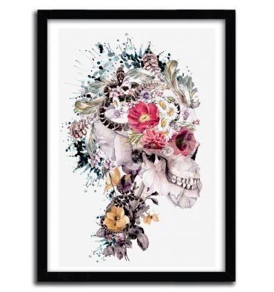 Affiche memento mori X par Riza Pekler