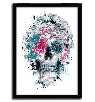 Affiche memento mori IX par Riza Pekler