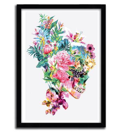 Affiche skull VI par Riza Pekler
