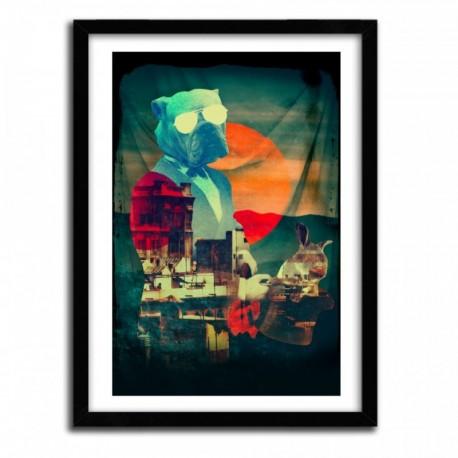 Affiche ABRACADABRA by ALI GULEC