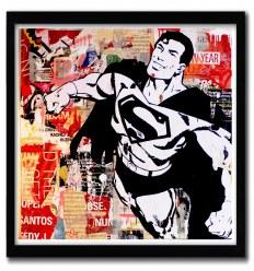 Affiche Superman par Michiel Folkers
