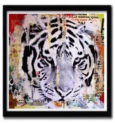 Affiche tigerhead par Michiels Folkers