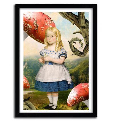 Affiche Alice by DIOGO VERISSIMO