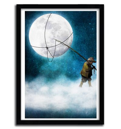 Affiche moonwalk by DIOGO VERISSIMO