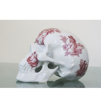 SKULL RED FRAGONARD BY NooN