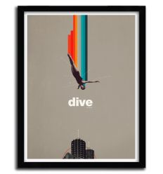 Affiche dive by FRANK MOTH