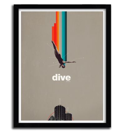 Affiche We Used to Live there too by FRANK MOTH