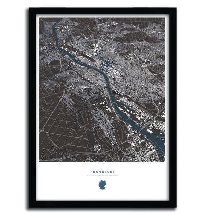 Affiche frankfurt by Luis Dilger