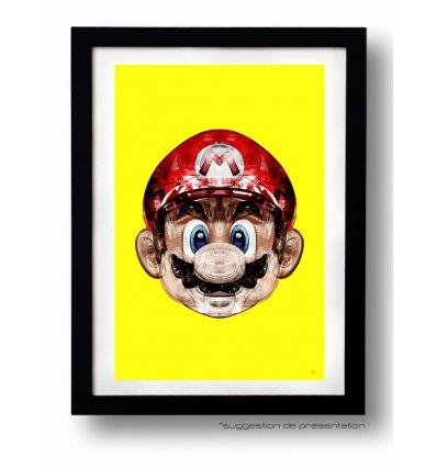 Affiche SUPER PLOMBIER par Rubiant