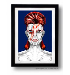 Affiche ROBOPOLIS BLEU par Rubiant