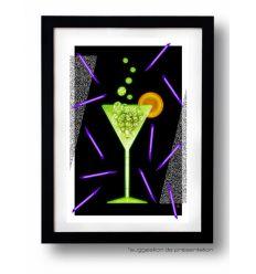 Affiche ACID DRINK par Rubiant