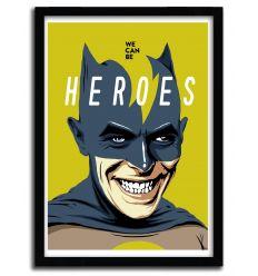 Affiche heroes par B. BILLY