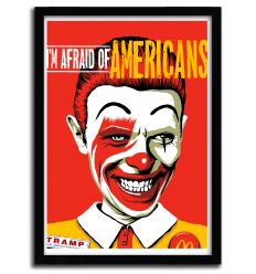 Affiche Im Afraid of Americans par B. BILLY