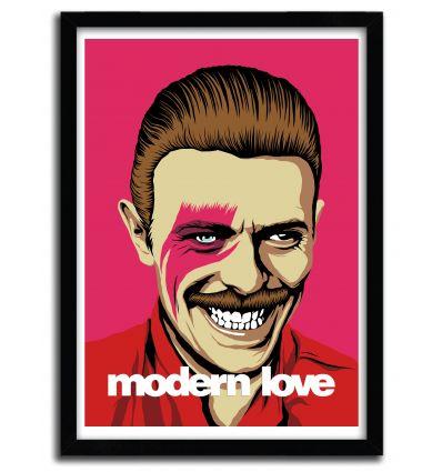 Affiche Modern Love par B. BILLY