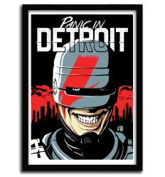 Affiche Panic in Detroit par B. BILLY