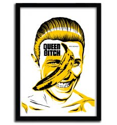 Affiche Queen Bitch par B. BILLY