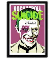 Affiche RocknRoll Suicide par B. BILLY