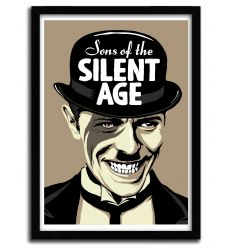 Affiche Sons Of The Silent Age par B. BILLY