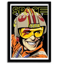 Affiche Space Oddity par B. BILLY