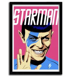 Affiche Starman par B. BILLY