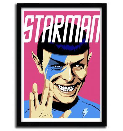 Affiche Starman par B. BILLY