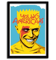 Affiche Young Americans par B. BILLY