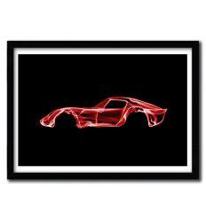 Affiche Ferrari 250 GTO par OCTAVIAN MIELU