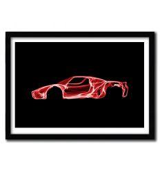 Affiche Ferrari Enzo par OCTAVIAN MIELU