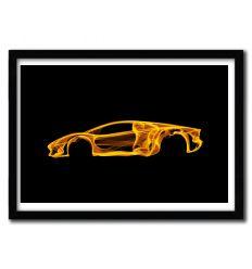 Affiche Lambo Aventador par OCTAVIAN MIELU
