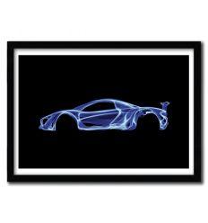 Affiche McLaren P1 par OCTAVIAN MIELU