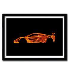 Affiche McLaren F1 par OCTAVIAN MIELU