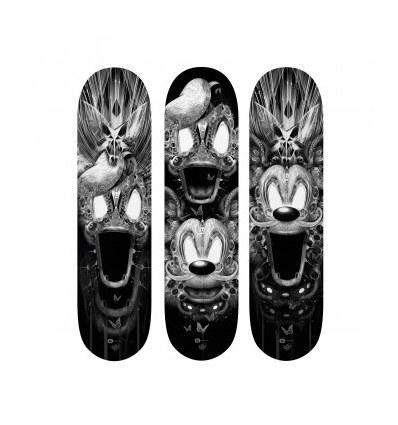 triptych FANTASMALAND by Nicolas Obery