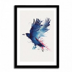 Affiche BLOODY CROW by ROBERT FARKAS