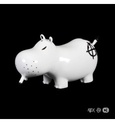 Potamus Black Anarchy by Frank Kozik & K.Olin Tribu