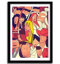 Affiche pajama par Ale Giorgini