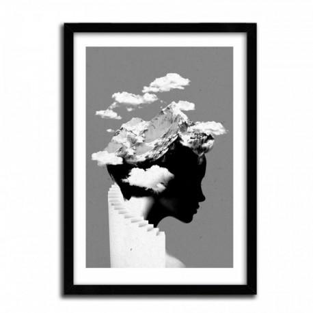 Affiche CLOUDY by ROBERT FARKAS