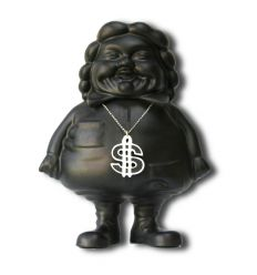 Sculpture Mc Supersized Black by Ron English