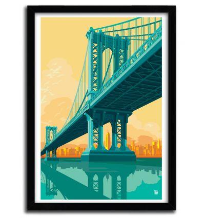Manhattan bridge York by Remko Heemskerk