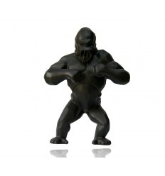 Wild Kong Black Porcelain by Richard Orlinski
