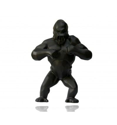 Wild Kong Black Porcelain by Richard Orlinski