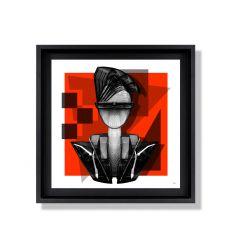 Affiche Batman par Michiel Folkers