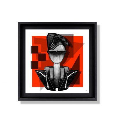 Affiche Batman par Michiels Folkers
