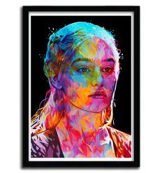 Affiche Daenerys par Alessandro Pautasso