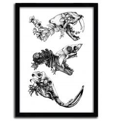 Prehistoric Bloom by SINPIGGYHEAD