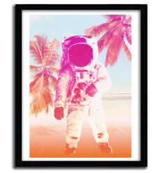 beach astronaut by SUSHILOVE