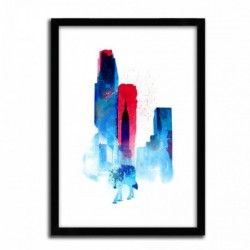 Affiche THE WOLF OF THE CITY by ROBERT FARKAS