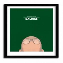 Affiche Notorious Baldie WALTER WHITE by Mr Peruca