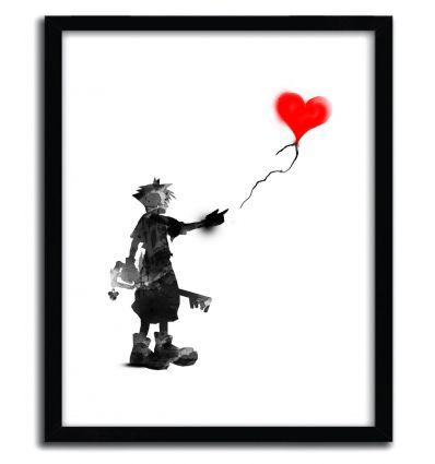 the boy,the key, the balloon by Kharmazerohirsty